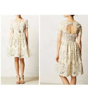 Anthropologie Ivoire Dress by Tracy Reese Sz 4